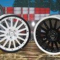 Zweifarbig lackierte Felgen von Audi BBS
